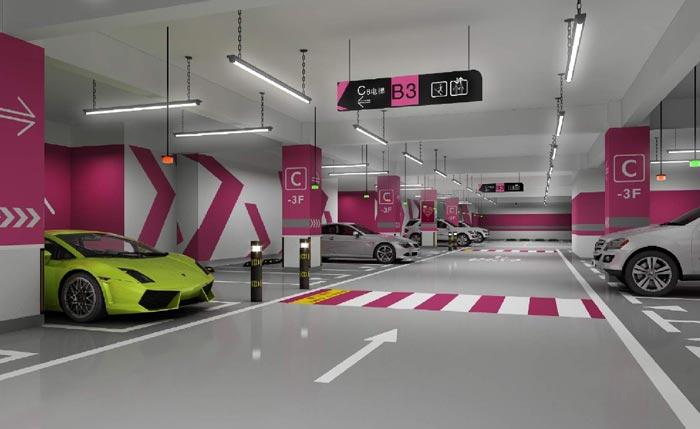 办公楼地下停车场规划设计方案