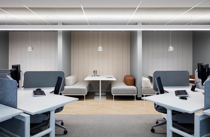 1800平方办公室办公装修设计效果图