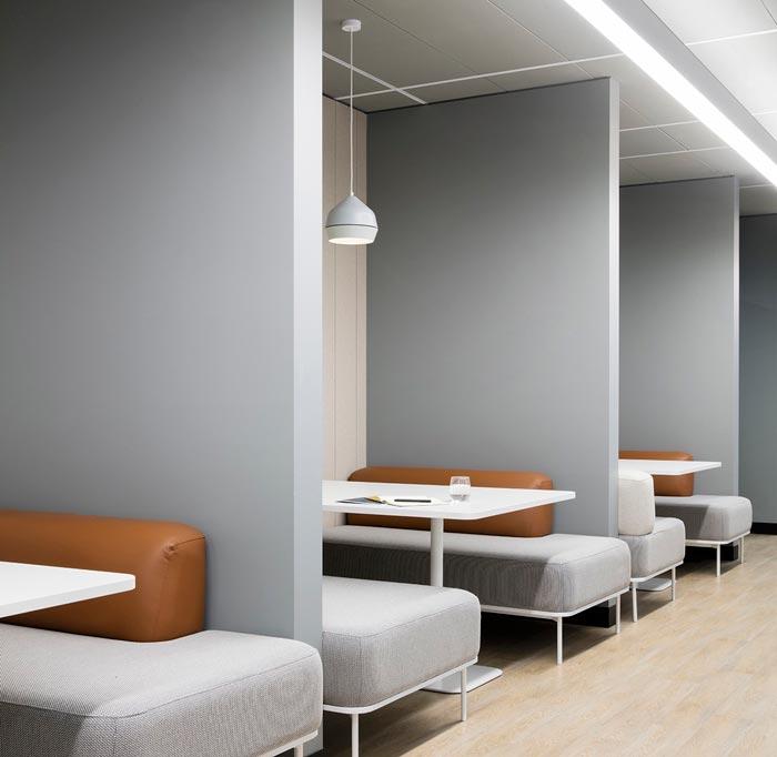 1800平方办公室休息装修设计效果图