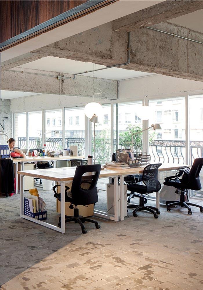 办公室办公区装修翻新改造效果图