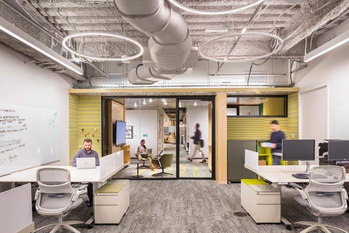 微软研发中心办公区装修设计效果图